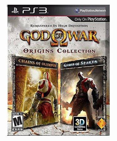God of War: Origins Collection (SEMI NOVO)