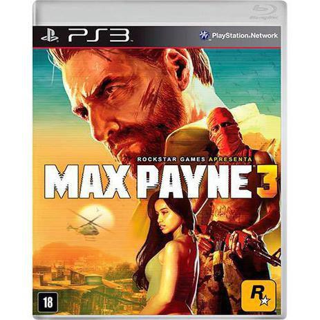 Max Payne 3 - Ps3 (SEMI NOVO)
