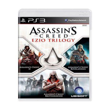Assassin's Creed: Ezio Trilogy - PS3 (SEMI NOVO)