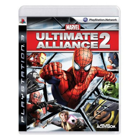 Ultimate Alliance 2 - PS3 (SEMI NOVO)