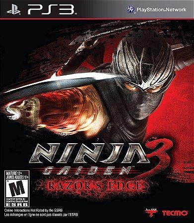 Jogo Ninja Gaiden 3: Razors Edge - Ps3 (SEMI NOVO)