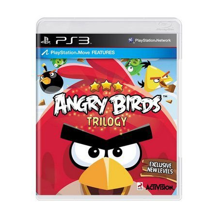 Angry Birds: Trilogy - PS3 (SEMI NOVO)