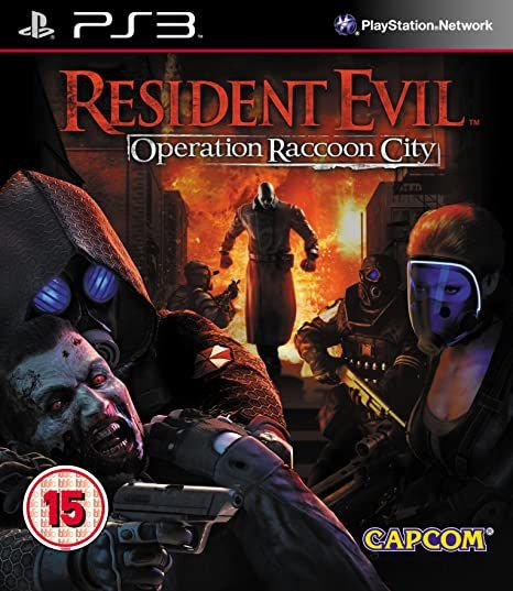 RESIDENT EVIL OPERATION RECCOON CITY