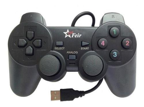 Controle joystick Feir FR-202 preto