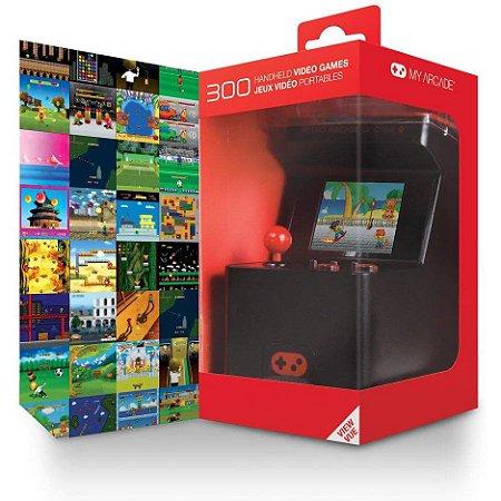 Gabinete De Jogos Portátil Mini Arcade Retro Máquina X Com 300 Incorporado