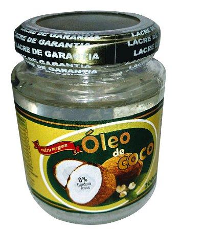 Óleo de Coco 200 ml Extravirgem