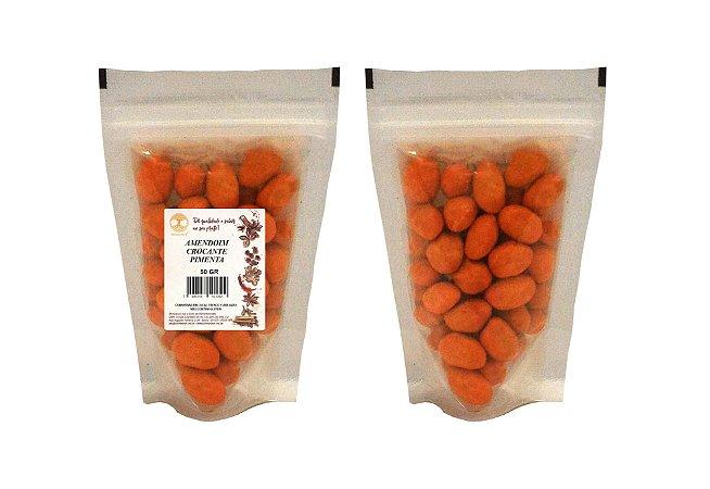 Amendoim crocante com Pimenta - 50 gramas - SNACK