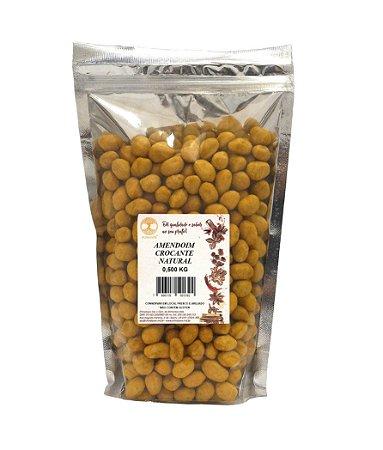Amendoim crocante natural 500 gramas