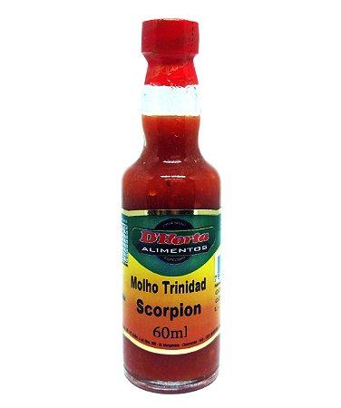 Molho de pimenta Trinidad Scorpion 60 ml