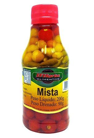 Pimenta Mista em conserva 200 gramas