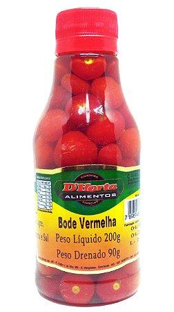 Pimenta Bode Vermelha em conserva 200 gramas