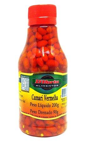 Pimenta Cumari Vermelha em conserva 200 gramas