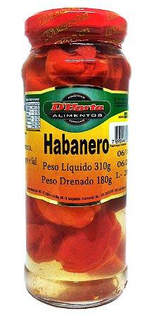 Pimenta Habanero em conserva 310 gramas