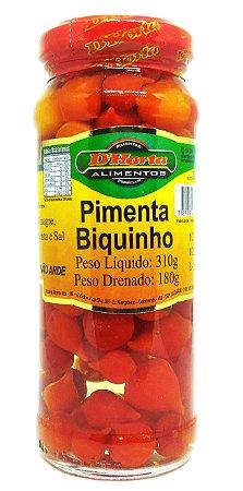 Pimenta Biquinho em conserva 310 gramas