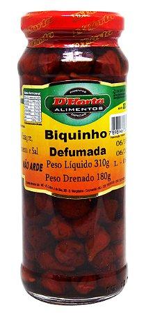 Pimenta Biquinho defumada 310 gramas