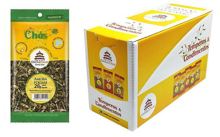 Amora Folhas 20 gramas - 10 unidades na caixa display