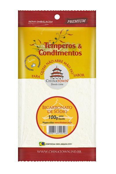 Bicarbonato de Sódio 100 gramas