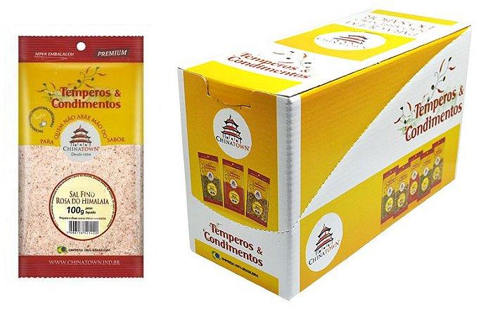 Sal Fino Rosa do Himalaia 100 grs - 8 unid caixa display