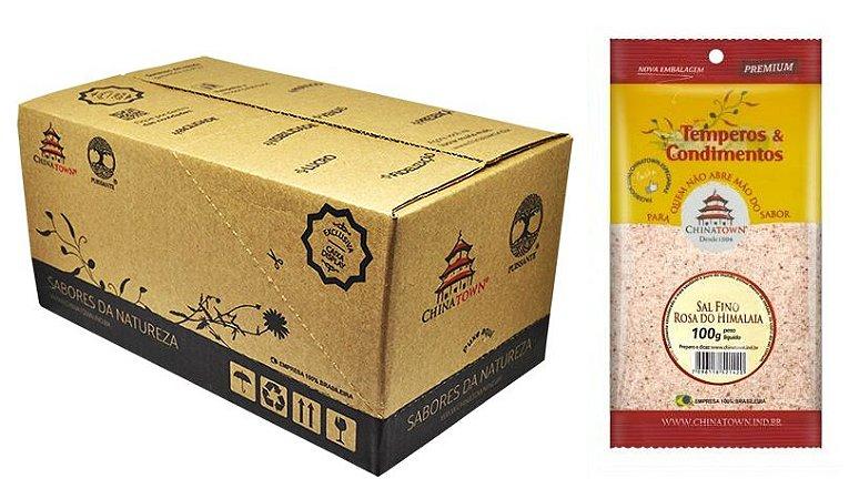 Sal Fino Rosa do Himalaia 100 grs - 20 unid caixa display