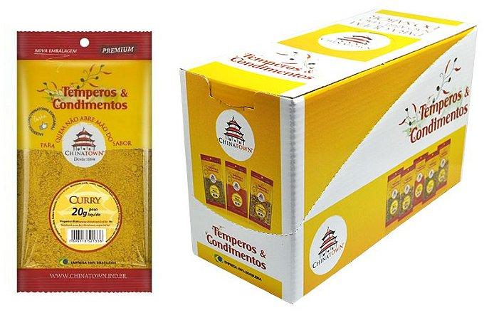 Curry 20 gramas - 10 unidades na caixa display