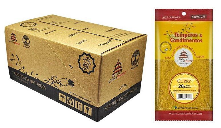 Curry 20 gramas - 24 unidades na caixa display