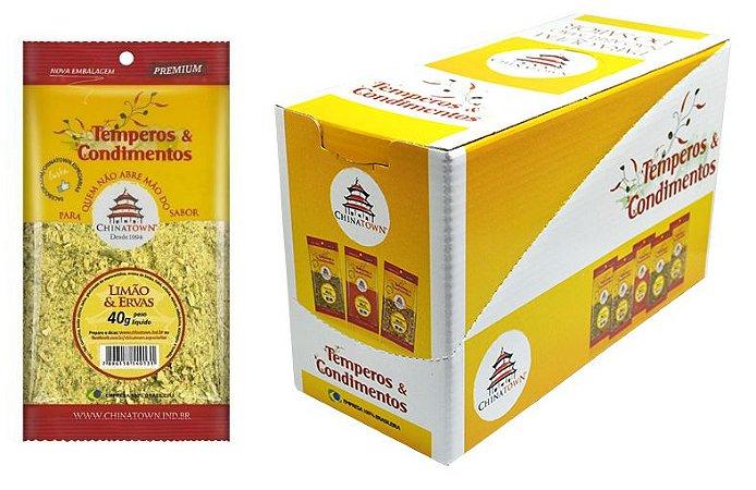 Limão & Ervas 40 gramas - 8 unidades na caixa display