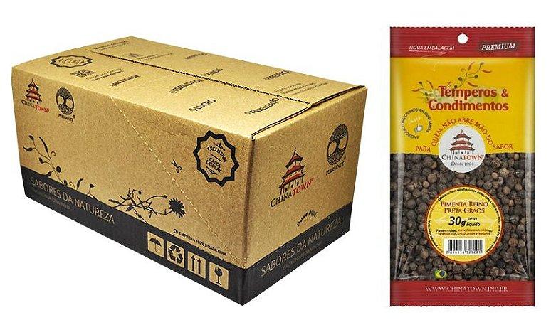 Pimenta Reino Preta Grão 30 grs - 24 unid caixa display