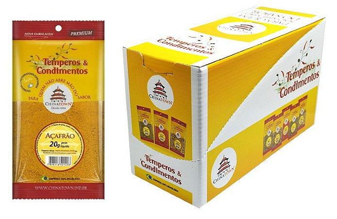 Açafrão (Curcuma) 20 gramas - 10 unidades na caixa display