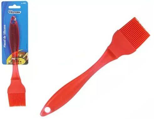 Pincel de Silicone com cabo de Plastico 22 cm