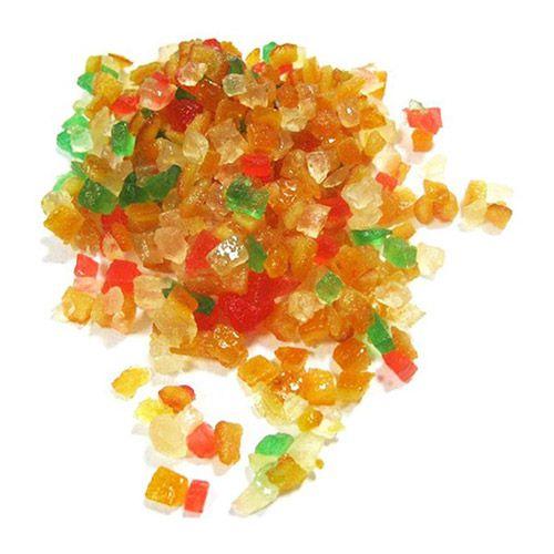 Frutas Cristalizadas em Cubos 500g