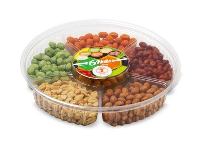 Bandeja 6 Nuts 550 gramas - amendoim