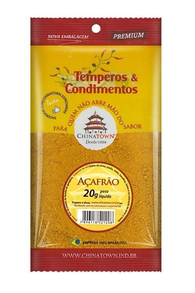 Açafrão (Curcuma) 20 gramas