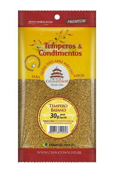 Tempero Baiano 30 gramas