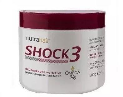 Máscara Shock 3 Nutrahair- 500g
