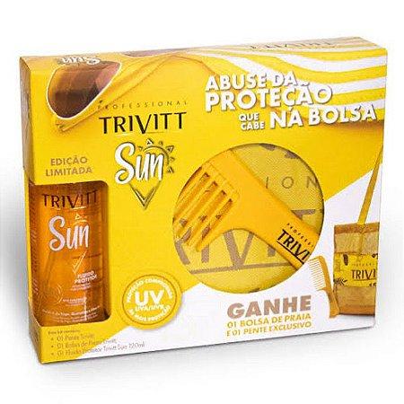 Sun Trivitt i- Fluído Protetor 120ml + bolsa + pente