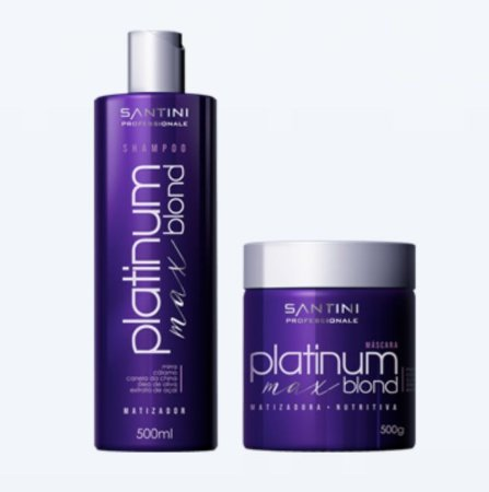 Kit Max Platinum Blond - Santini