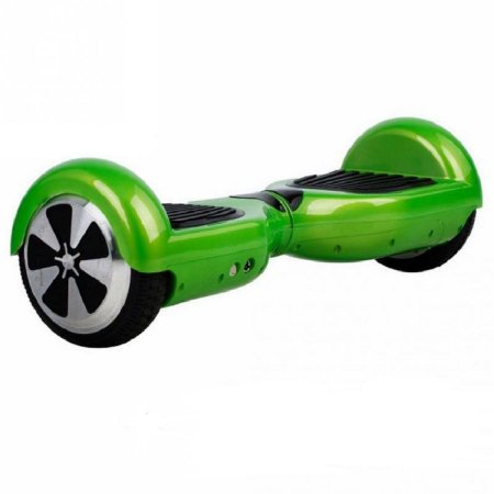 Hoverboard Skate Elétrico Smart Balance Wheel 6,5 Polegadas com Bluetooth - Verde