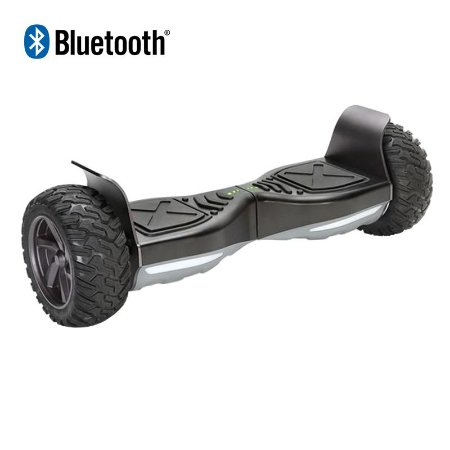 Hoverboard Off-Road com Bluetooth 7,5 polegadas - Preto