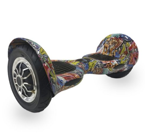 Hoverboard Skate Elétrico Smart Balance Wheel 10 Polegadas Bluetooth - Laranja Colorido