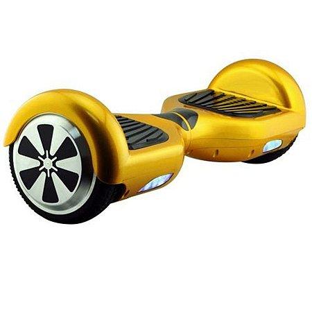 Hoverboard Skate Elétrico Smart Balance Wheel 6,5 Polegadas - Dourado
