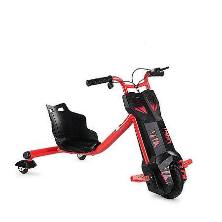 Triciclo Elétrico Cool Drifting Sport - Vermelho