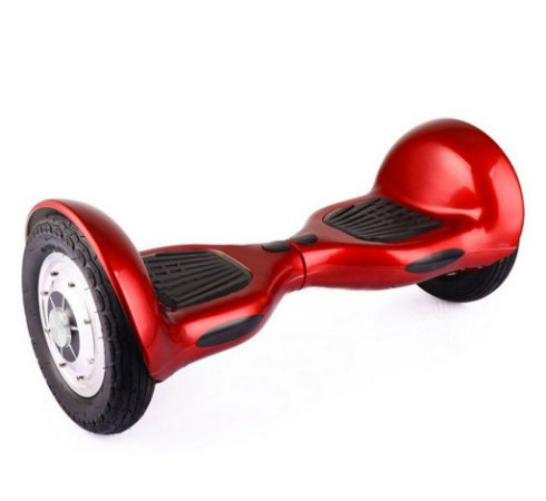 Hoverboard Skate Elétrico Smart Balance Wheel 10 Polegadas Bluetooth - Vermelho