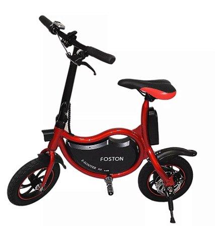 Bicicleta Elétrica 350W - Vermelha