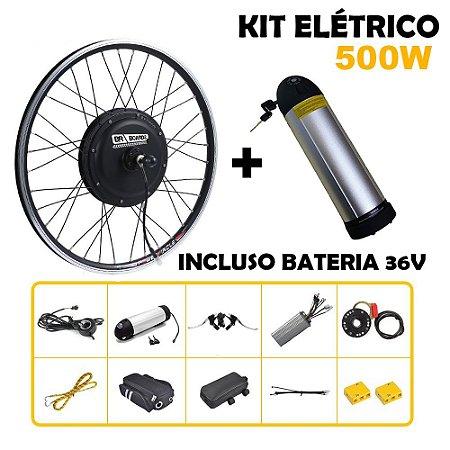 Kit Bike Elétrica 500w Aro 29 Com Bateria De Lítio Completo