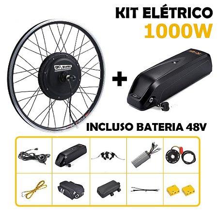 Kit Bike Elétrica 1000w Aro 29 Com Bateria De Lítio Completo