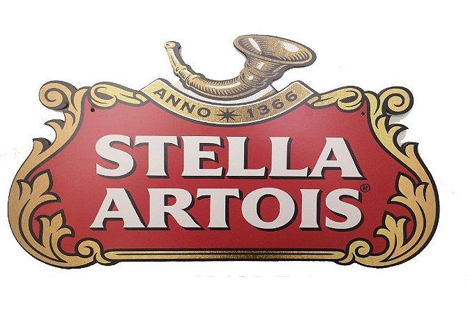 Placa decorativa stella artois