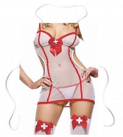 Avental enfermeira sexy