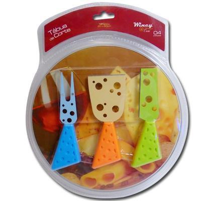 Tábua de corte para queijos 4 peças