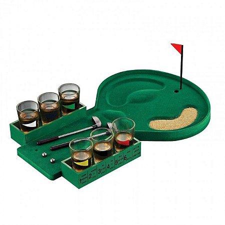Jogo mini golf shots drink