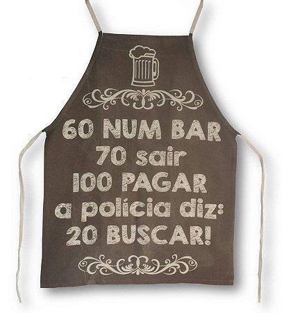 Avental 60 num bar
